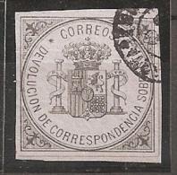 ESPAÑA 1875 - Edifil #172 - VFU - Usados