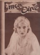 MON CINE 25 02 1932 - JOSSELINE GAËL - HARRY BAUR - CINEMA DE 1931 - LES CARREFOURS DE LA VILLE GARY COOPER - MYRNA LOY - Cinéma/Télévision
