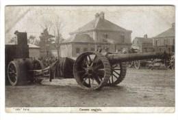 CPA MILITAIRE GUERRE DE 1914 - 18 M1TERIEL - Canons Anglais - Materiaal