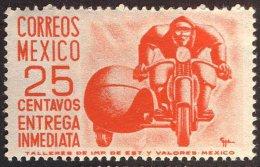 MEXICO  -  MOTORBIKE   - Type  II  (0,5 Mm) - **MNH - 1952 - Moto
