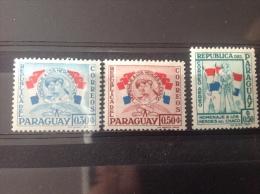 Paraguay - Postfris / MNH Serie Helden Van De Chaco Oorlog 1957 - Paraguay