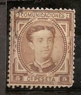 ESPAÑA 1876 - Edifil #174 - VFU - Usados