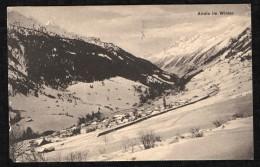 AIROLO IM WINTER - 1916 - TI Tessin