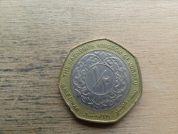 Jordanie  1/2  Dinars  2000 - Jordanie