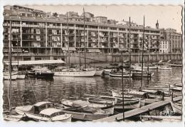 CPA CPSM 34 Hérault Sète Le Port La Consigne Voyagée En 1961 éditions Pages Perpignan - Sete (Cette)