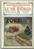 1921 - Rivista Mensile T.C.I., - Motori