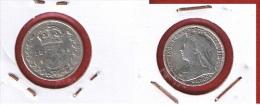 GRANDE BRETAGNE  ///   3 Pence 1898   ///  état TB - 1816-1901 : 19th C. Minting