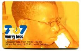 @+ Namibie - N$ 20 + 2 - WORRY LESS. NAEI03708512. - Namibie