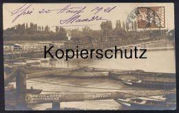 ALTE POSTKARTE SPEYER AM RHEIN DAMPFLOK AUF BRÜCKE Locomotive à Vapeur Steam Engine Train Postcard Cpa AK Ansichtskarte