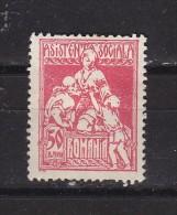 ROUMANIE - N°Y&T - Fiscal - 50b Rouge Carminé -  - N* - 1858-1880 Moldavia & Principality