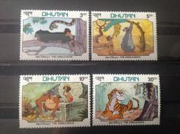 Bhutan - Postfris / MNH Serie Disney Jungle Book 1982 - Bhutan