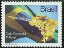 BRAZIL #3003  -  FLAG AND TREE NATIONAL SYMBOLS   -  MINT - Brazil