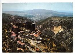 Evenos-Montagne - Vue Aérienne - Au Loin, Le Fort De Six-Fours - 1974 - C.I.M. E 83.053.97 1.7876 - Frankreich