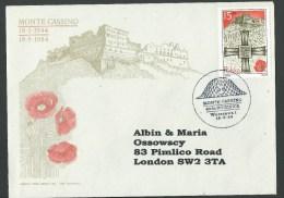 1944--1984. 40th. ANNIVERSARY OF MONTE  CASSINO BATTLE. - 1939-44: World War Two