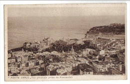 Monte-Carlo - Vue Générale Prise De Beausoleil - L.L. N° 7 - Monaco - Monte-Carlo