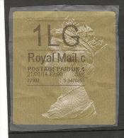 1 Lg Royal Mailpostage - 1952-.... (Elizabeth II)