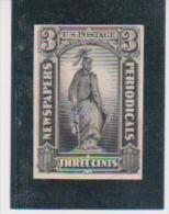 US United States Scott # PR-10P4 On Card Newspapers Periodicals MNH  Catalogue $12.00 - Nachdrucke & Specimen