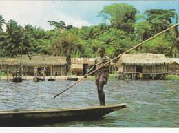 AFRIQUE,AFRICA,AFRIKA,NIGERIA,ETAT DE LAGOS,LAGOS STATE,ex Colonie Britannique,METIER,PECHEU R - Nigeria