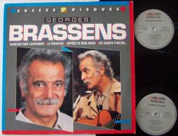 Georges BRASSENS Double LP POLYGRAM 24 Succès Chanson Pour L'auvergnat EX EX - New Age