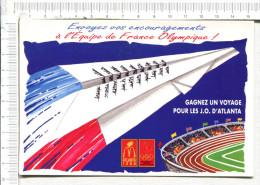 EQUIPE De FRANCE  OLYMPIQUE  -    ATLANTA   -   Encouragements - Olympische Spiele