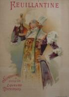 Chromo EPICERIE G. MEYNIEUX à ST-JUNIEN  (HAUTE VIENNE ) - Costume Moyen-âge- Liqueur FEUILLANTINE - Altri