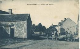 VALLIÈRES.  Route De Binas  (41?) (en L'état) - France