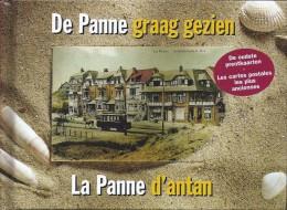 De Panne La Panne D'antan Graag Gezien  Oude Prentkaarten Veille Carte Postale 124blz 2002 - De Panne