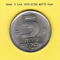 ISRAEL    5  LIROT  1979  (YR. 5739) (KM # 90) - Israel