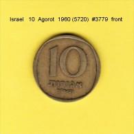 ISRAEL    10  AGOROT  1960  (YR. 5720) (KM # 26) - Israel
