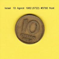 ISRAEL    10  AGOROT  1962  (YR. 5722) (KM # 26) - Israel