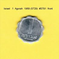 ISRAEL    1  AGORAH  1969  (YR. 5729) (KM # 24.1) - Israel