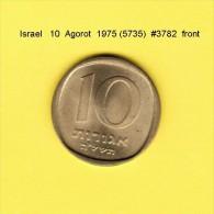 ISRAEL    10  AGOROT  1975  (YR. 5735) (KM # 26) - Israel