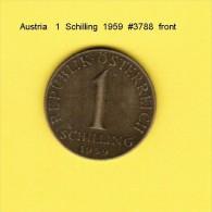 AUSTRIA   1  SCHILLING  1959  (KM # 2886) - Austria
