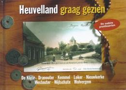Heuveland Graag Gezien Oude Prentkaarten 174blz Ed 2002 De Klaproos - Heuvelland