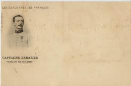EXPLORATEUR FRANCAIS CAPITAINE BARATIER MISSION MARCHAND - Historical Famous People