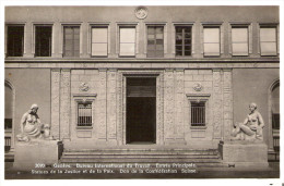 PostkaartZwitserland A573  Genéve Bureau International Du Travail - Ohne Zuordnung