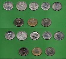 Lotto Di 8 Monete ( 5 Argento 3 Nickel ) Belle ! - Monete