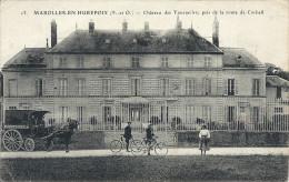 CPA MAROLLES EN HUREPOIX  Attelage BOULANGERIE - France