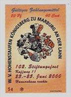 40 Euro-Cent Temporaire, Precurseur, Euro-Vorläufer MARBURG, 2000, RRRRR, UNC - EURO