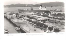 POSTAL VIGO -PONTEVEDRA (ESPAÑA)  BARCO ARGENTINO EN PUERTO   -ED.ARRIBAS - Pontevedra