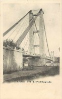 Depts Div- Gard -ref K684- Aramon - Le Pont Suspendu  - Carte Bon Etat  - - Aramon