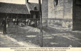BELGIQUE - LIMBOURG - BOCHOLT - Déplacement Du Clocher De L'Eglise - Entreprise MORGLIA. - Bocholt