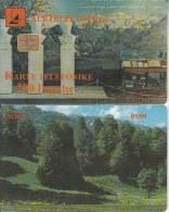 ALBANIA - Landscape, Albtelecom Telecard 200 Units, Tirage 30000, 05/99, Used - Paisajes