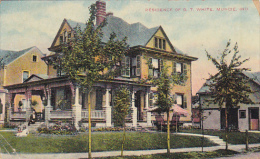 Residence Of G T White Muncie Indiana