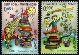Montenegro 2010 Europa CEPT, Childrens Book, Set MNH - Montenegro