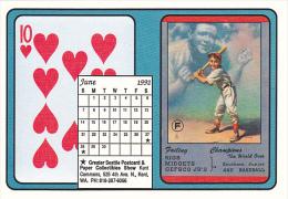 1992 Playing Card Calendar Series June - Playing Cards