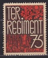 1940 SUISSE Switzerland Ter. Regiment . . . . [BX15] - Militaria