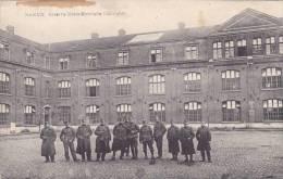 AZE33/ Rare Namur Caserne Marie Henriette Intérieur, Soldats Ed. J. PAQUIER Namur - Namur