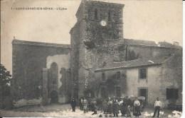 SAINT ANDRE SUR SEVRE (79 - Deux-Sèvres) - L´Eglise (Animée, Personnes ...) - France