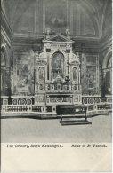 Unknown Postcard - London, The  Oratory, South Kensington, Altar Of St Patrick - London